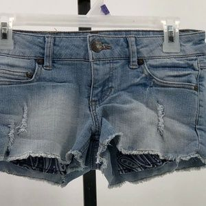 Celebrity Pink junior size 1 cutoff jean shorts